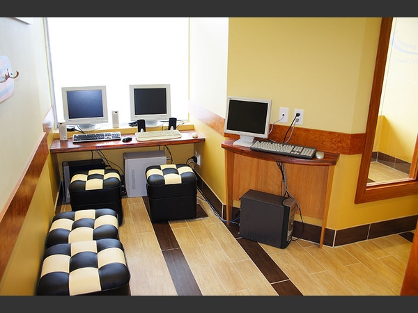 The internet is available for our patients at 2 guest terminals. Stay connected while you're here!